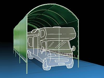 Picasso tettoie tende verande e coperture per veicoli for Tettoia per camper